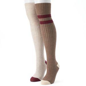 NWT UnionBay Over-the-knee Socks - 2 pair